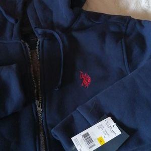 - NWT..U.S. POLO ASSN. Fleece lined hoodie